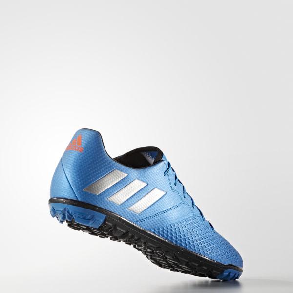 check out bf43d ea47f Botines de fútbol MESSI 16.3 TF SHOCK BLUE MATTE SILVER CORE BLACK S79641