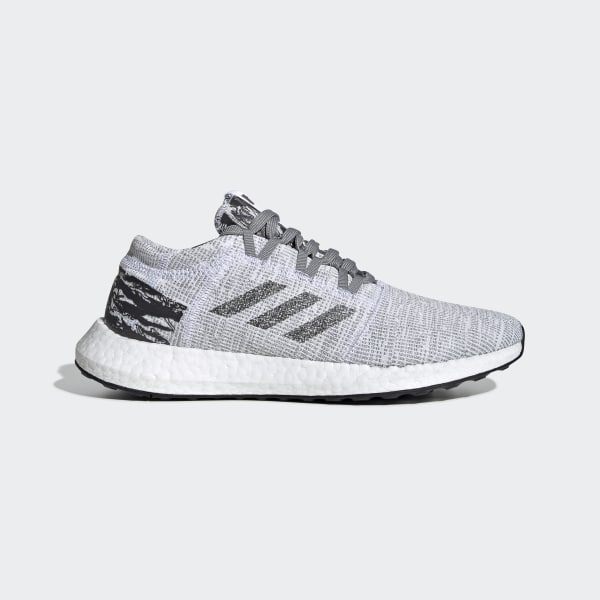 ac72d3128 adidas x UNDEFEATED Pureboost GO Shoes Grey   Core Black   Core Black BC0474