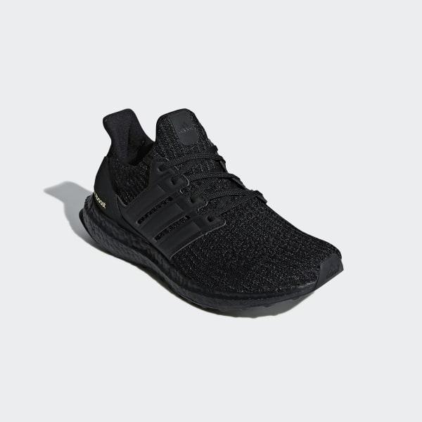 dd45fb412d3f2 Ultraboost Shoes Core Black   Core Black   Gold Metallic F36123