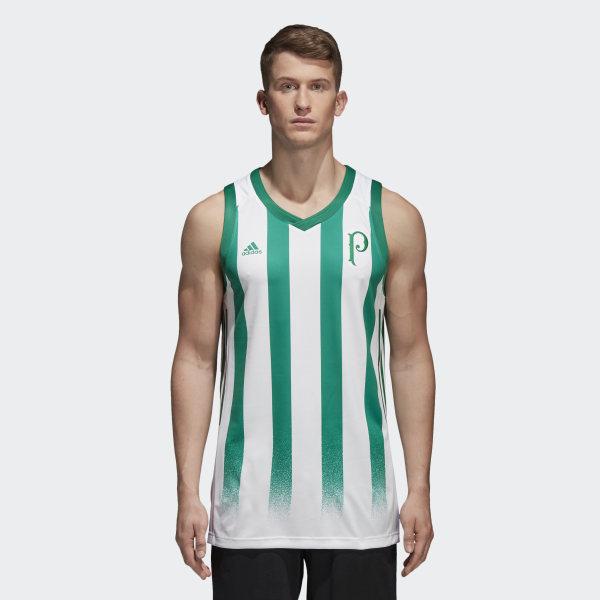 Regata Basquete Palmeiras 2 WHITE BOLD GREEN CW3278 4e3175ee3d61b