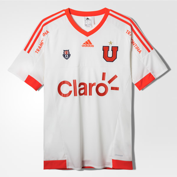 Camiseta Alternativa Universidad de Chile 2015 2016 WHITE SOLAR RED S07590 d954d01ab3b10