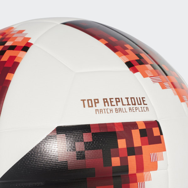 cb52e040f FIFA World Cup Knockout Top Replique Ball White   Solar Red   Black CW4683