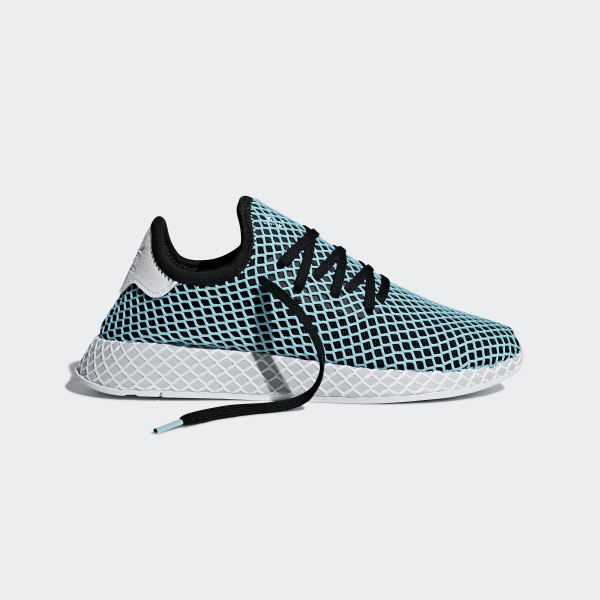 on sale 978a2 c4a12 Deerupt Runner Parley Shoes TurquoiseCore BlackBlue Spirit CQ2623
