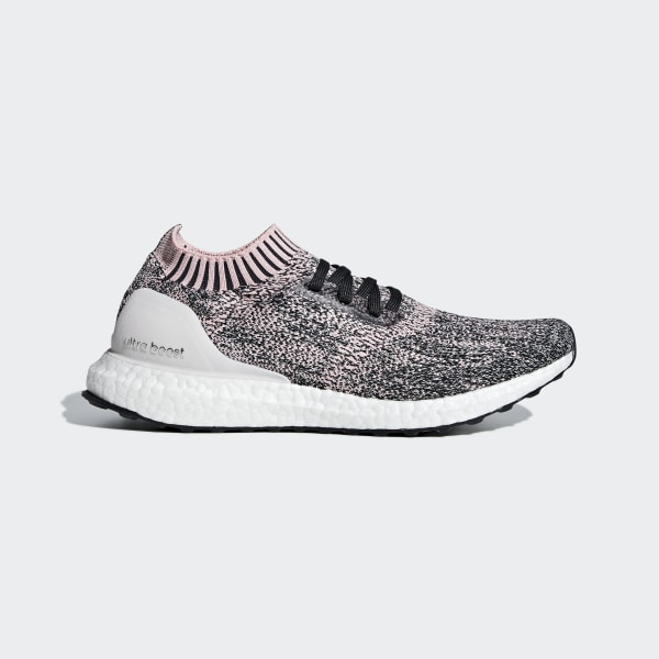 cacb53e14 UltraBOOST Uncaged W True Pink   Clear Orange   Carbon B75861