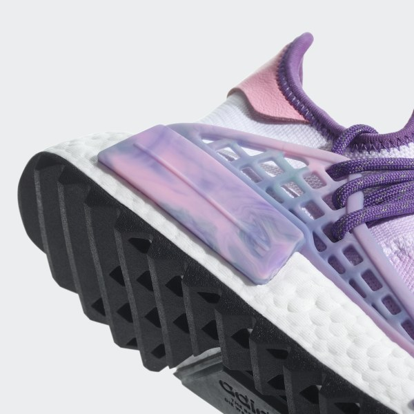 ff28eca9c805e Pharrell Williams Hu Holi NMD MC Shoes Pink Glow   Lab Green   Flash Purple  AC7362