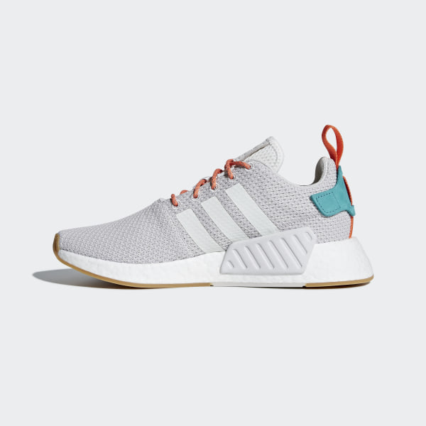b5139b010 NMD R2 Summer Shoes Grey   Grey One   Gum 3 CQ3080