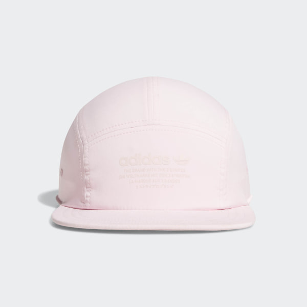 4ff1f3c06ea NMD Five-Panel Hat Clear Pink CJ3898