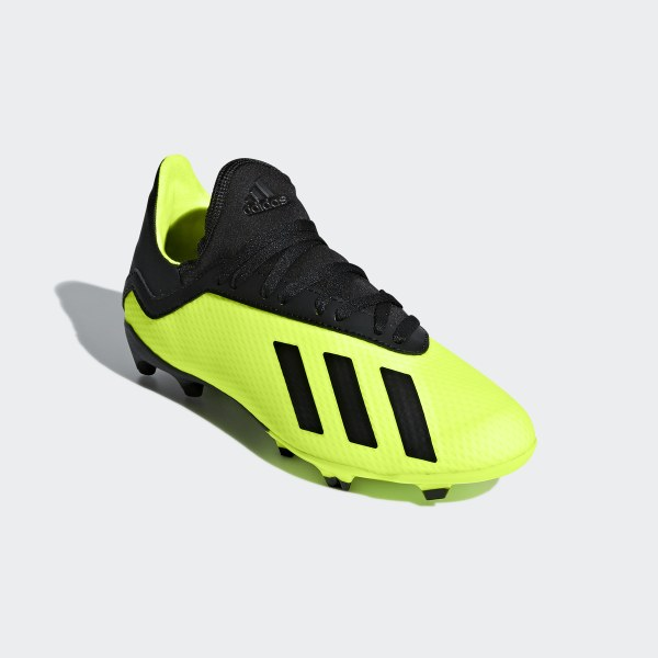 X 18.3 Firm Ground Fotbollsskor Solar Yellow   Core Black   Solar Yellow  DB2418 767afdb124fe7