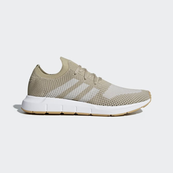 c2cec28e3dcbb Swift Run Primeknit Shoes Beige   Core Black   Ftwr White CQ2890