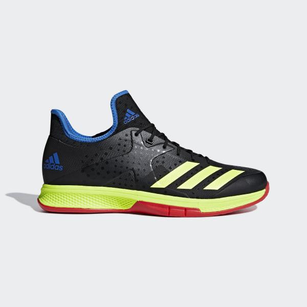 online store 952f7 4e063 Counterblast Bounce Schuh Core Black  Hi-Res Yellow  True Blue BD7408