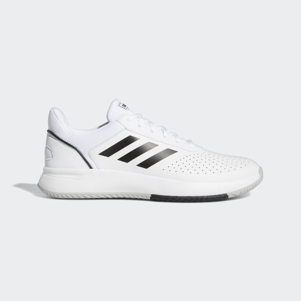 05b35a1c6323e Courtsmash Shoes Cloud White   Core Black   Grey Two F36718