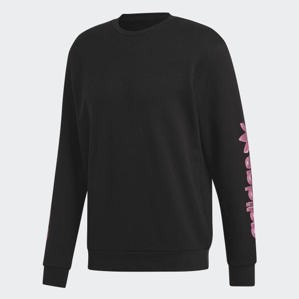 46313227fcd0 adidas Graphic Crewneck Sweatshirt - Black