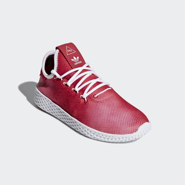 107dc325b2e31 Pharrell Williams Tennis Hu Shoes Scarlet Ftwr White Ftwr White CQ2301