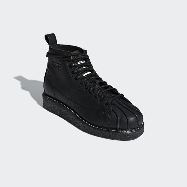 Superstar Luxe Boots Core Black   Core Black   Ftwr White AQ1250 c9cd9070d