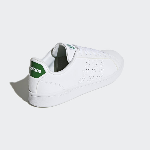 best sneakers 80e63 b0999 ... best Cloudfoam Advantage Clean Shoes Cloud White Cloud White Green  AW3914 05be0 748e2  special sales adidas Neo ...