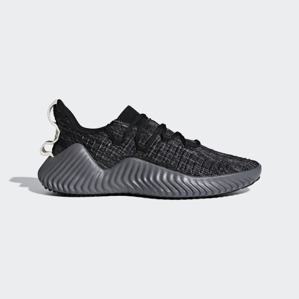 d92f4761033e5 Alphabounce Trainer Shoes Core Black   Grey Four   Raw White BB9250