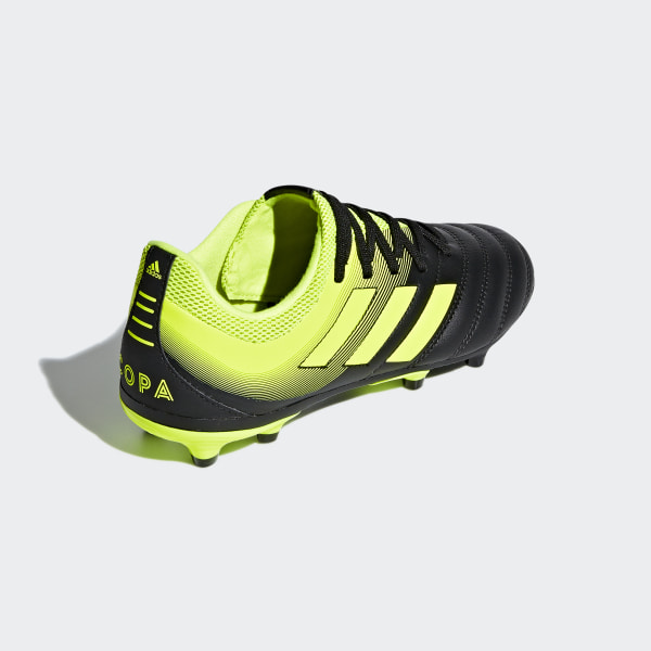 buy online 0a34b 98e97 Copa 19.3 Firm Ground Boots Core Black  Solar Yellow  Solar Yellow D98080