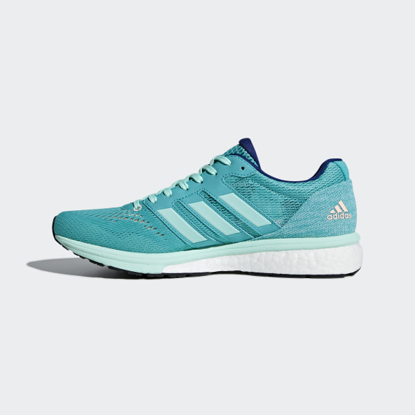 low priced bdd42 65f66 Adizero Boston 7 Shoes Hi-Res Aqua  Clear Mint  Mystery Ink BB6498