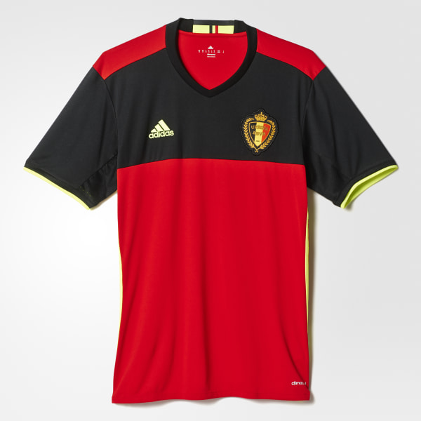 Camisa Bélgica SCARLET BLACK SOLAR YELLOW AA8744 c9502f9923351