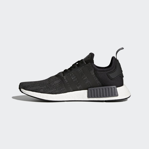 93a130599 NMD R1 Shoes Core Black   Carbon   Cloud White B79758