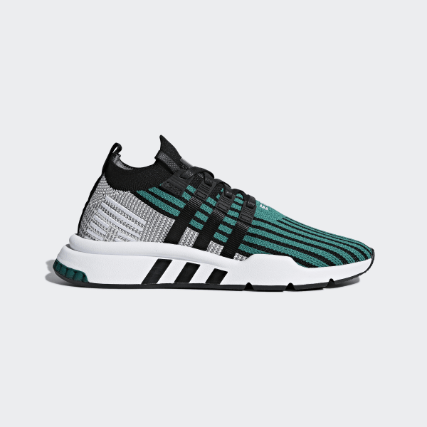 sports shoes 5dba4 92db3 EQT Support Mid ADV Primeknit Shoes Sub GreenCore BlackCore Black CQ2998