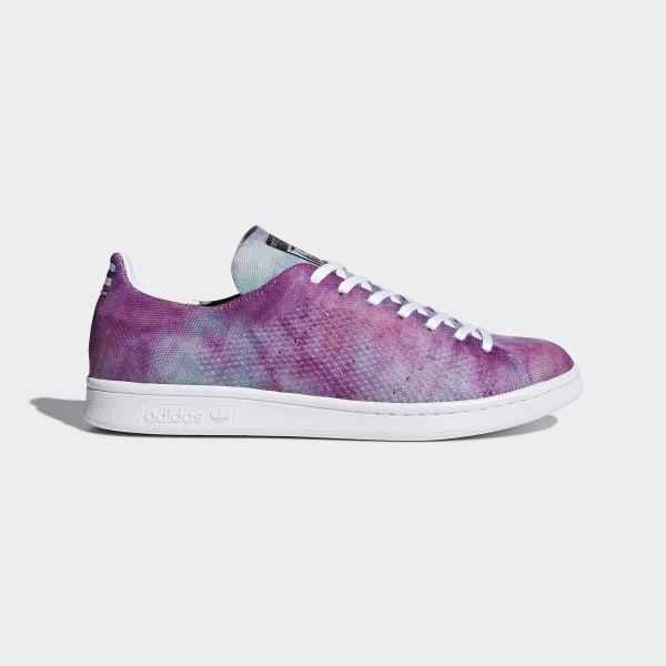 outlet store 1b662 bb14c Pharrell Williams Hu Holi Stan Smith MC Shoes Chalk Coral   Cloud White    Cloud White