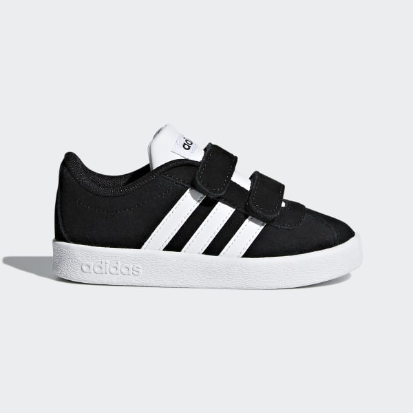 adidas VL Court 2.0 Shoes - Black  48352000f