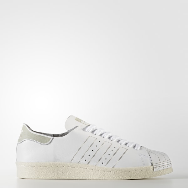 new concept eb758 dc07d Superstar 80s Decon Shoes Footwear White   Footwear White   Vintage White  BZ0109