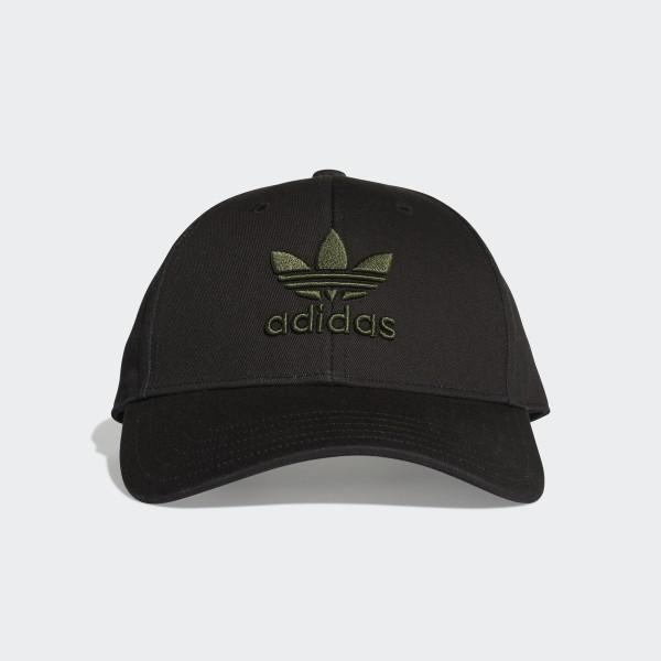 adidas Trefoil Baseball Cap - Black  b182195f6f9