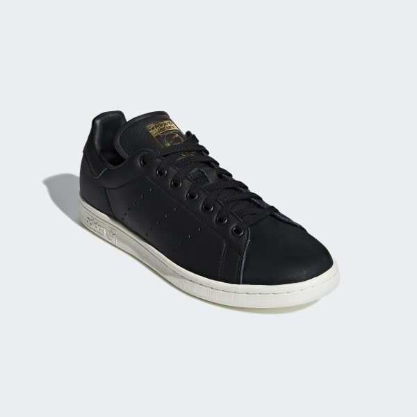 Stan Smith Premium Shoes Core Black / Core Black / Gold Metallic B37901