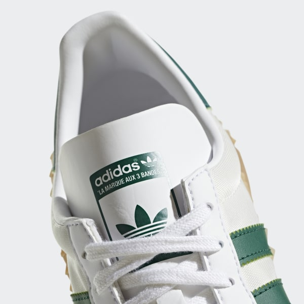 best service 21ea2 67683 CountryxKamanda Shoes Cloud White  Collegiate Green  Gum 3 G26797