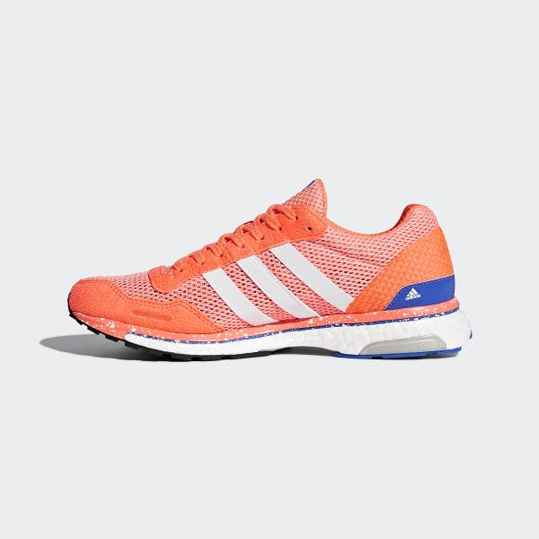premium selection 01d98 56535 Chaussure adizero Adios 3 Chalk CoralFtwr WhiteOrange BB6408