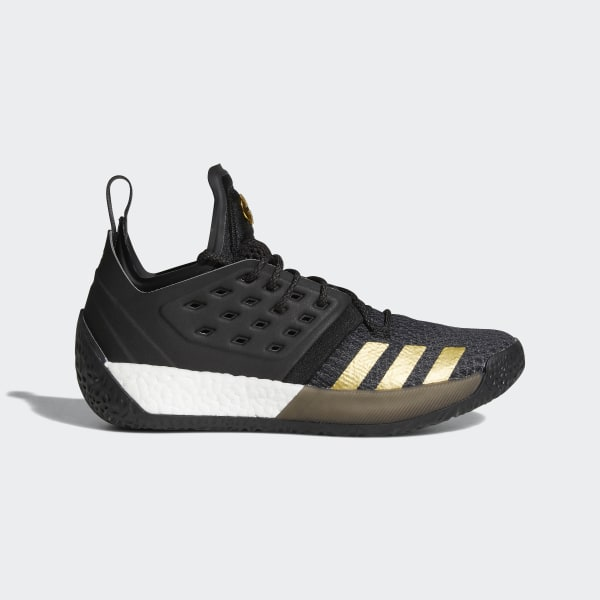 the latest 4eab5 2ab8c Harden Vol. 2 Shoes Core Black Utility Black Gold Metallic AH2215