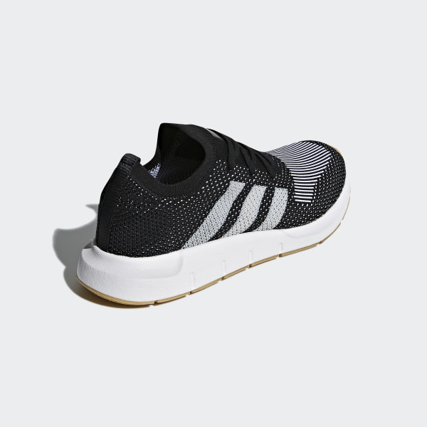 b8b7fbeffbba8 Swift Run Primeknit Shoes Core Black   Off White   Ftwr White CQ2891