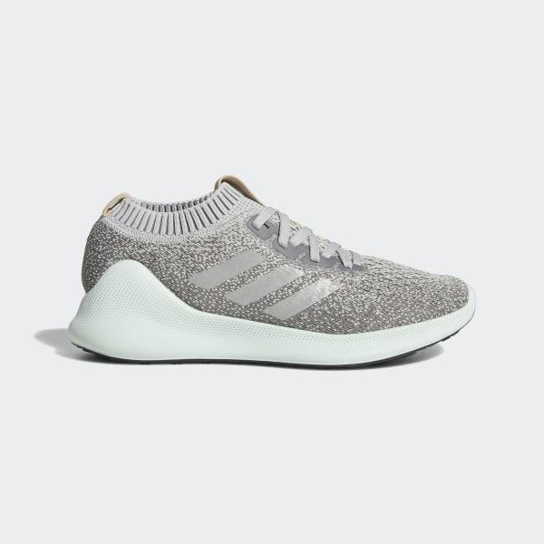 c8761f28817 Purebounce+ Shoes Grey Two   Silver Metallic   Ash Green D96595