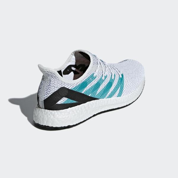 16047600fc3 SPEEDFACTORY AM4LDN Shoes Cloud White   Shock Green   Shock Green G25950