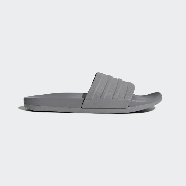 924796544 adilette Cloudfoam Plus Mono Slides Grey Three   Grey Three   Grey Three  S80977