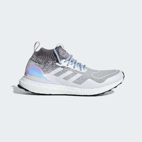 776a2e4c029 Sapatos de Cano Médio Ultraboost Light Granite   Light Granite   Silver  Met. EE3732