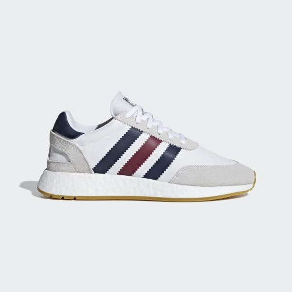 671fb23722b73 I-5923 Shoes Ftwr White   Collegiate Burgundy   Collegiate Navy BD7813