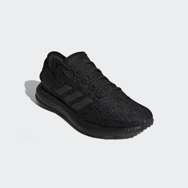 80e48f4d7 PureBOOST Shoes Core Black   Dgh Solid Grey   Hi-Res Orange CM8304