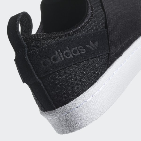 Adidas Superstar Slip On Shoes Black Adidas Us