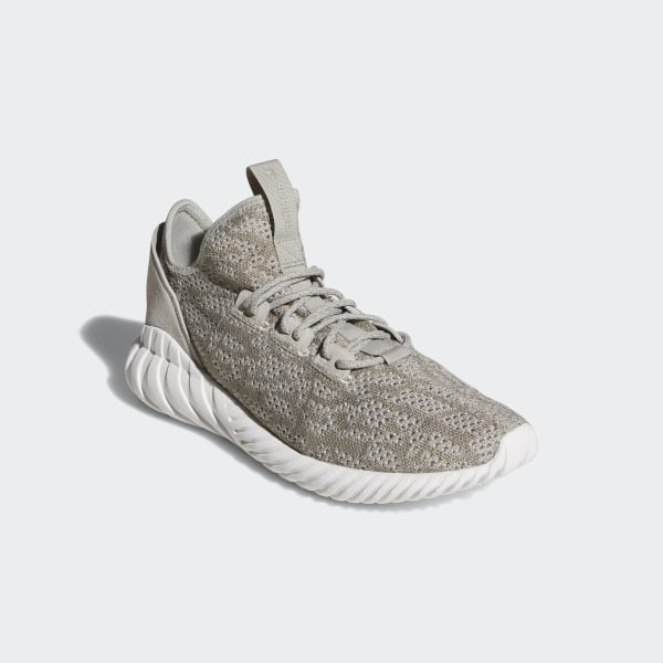 42b5048f4 Tubular Doom Sock Primeknit Shoes Sesame   Sesame   Crystal White BY3561