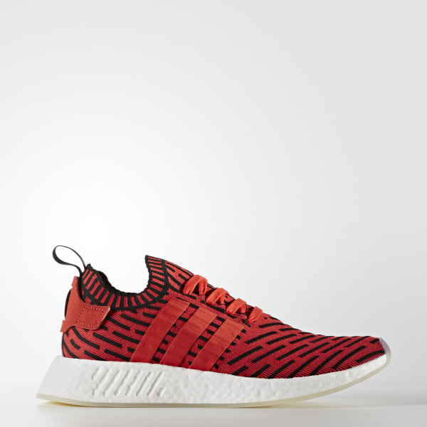 130eec2a7 NMD R2 Primeknit Shoes Core Red   Core Red   Cloud White BB2910