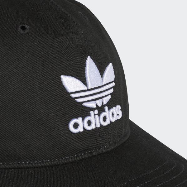 adidas Trefoil Classic Cap - Black  b1348a9aba1b