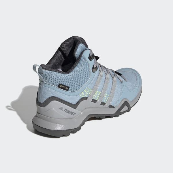 d6203343b4cce Terrex Swift R2 Mid GTX Shoes Ash Grey   Grey Two   Grey Six BC0401