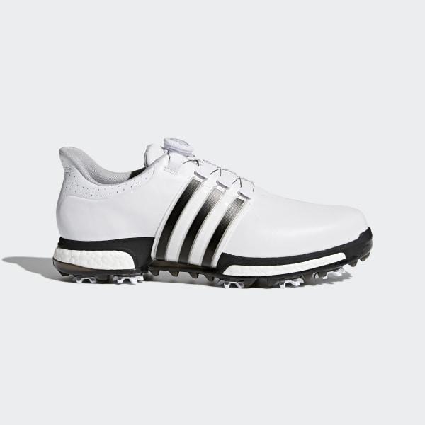 4296fdc0c Tour 360 Boa Boost Shoes Cloud White   Core Black   Dark Silver Metallic  F33409