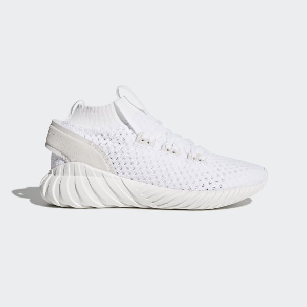 huge discount e1d2e 6bc1d Zapatillas Tubular Doom Sock Primeknit CORE WHITE FTWR WHITE TRACE PURPLE  S18 CQ2481