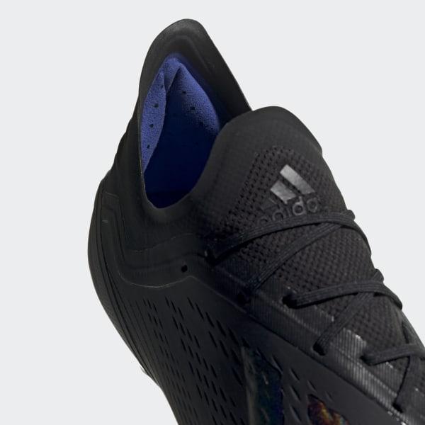 98edeed423c Chaussure X 18.1 Terrain souple Core Black   Core Black   Bold Blue BB9346