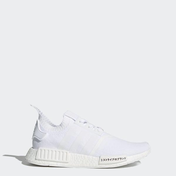 144244ec9 adidas Men s NMD R1 Primeknit Shoes - White