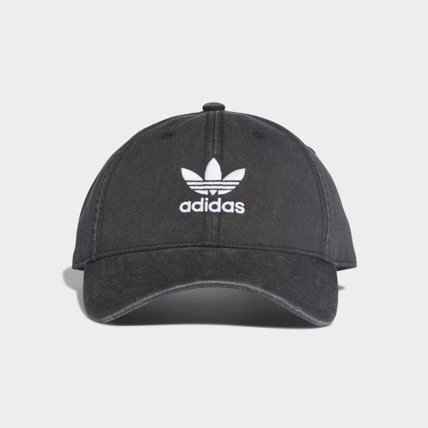 b65622a6da3 adidas Adicolor Washed Cap - Black